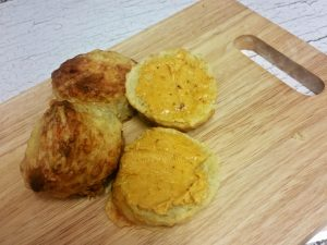 cheese-scones-served