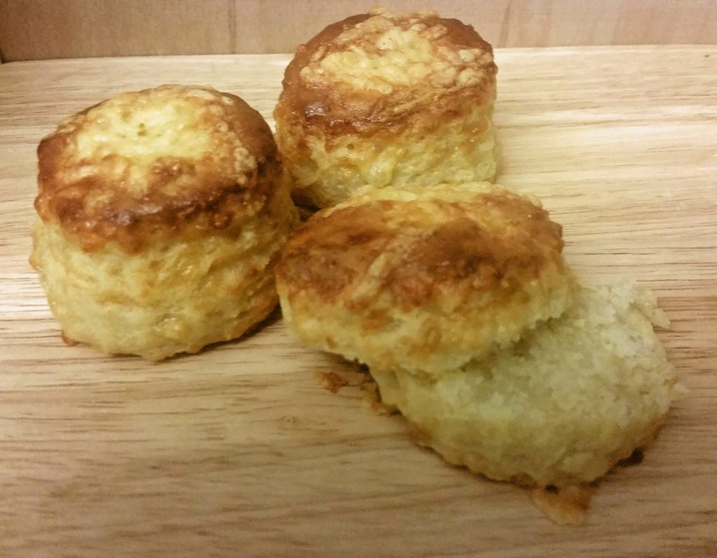 Cheddar Packed Cheese Scones