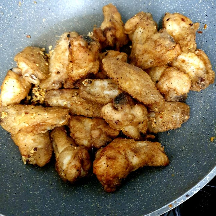 Crispy Chilli Salt & Pepper Chicken Wings